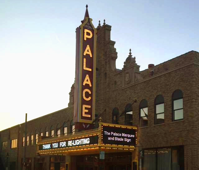 Palace Theater marquee
