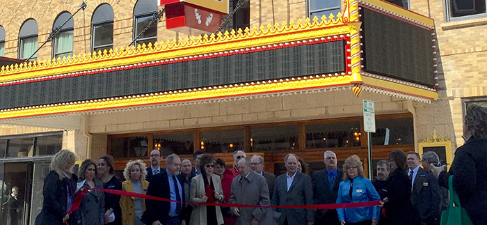 Palace Theater Ribbon Cutting